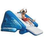 above ground pool water slide