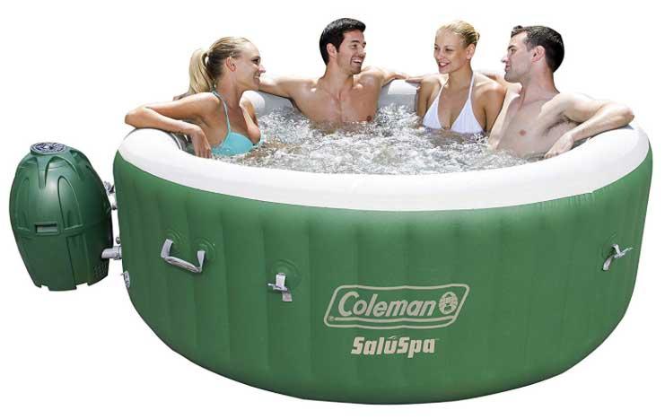 coleman portable hot tub