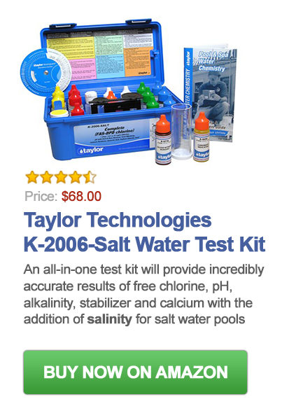 Salt Water Test Kit For Pools