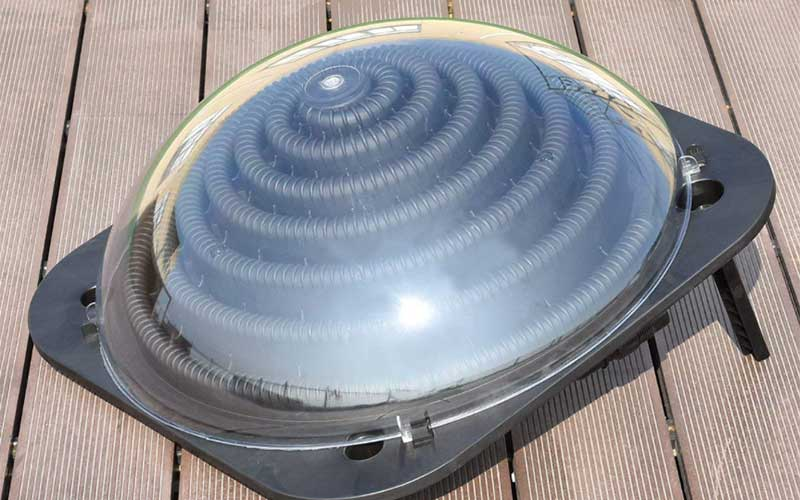 above ground solar pool heater
