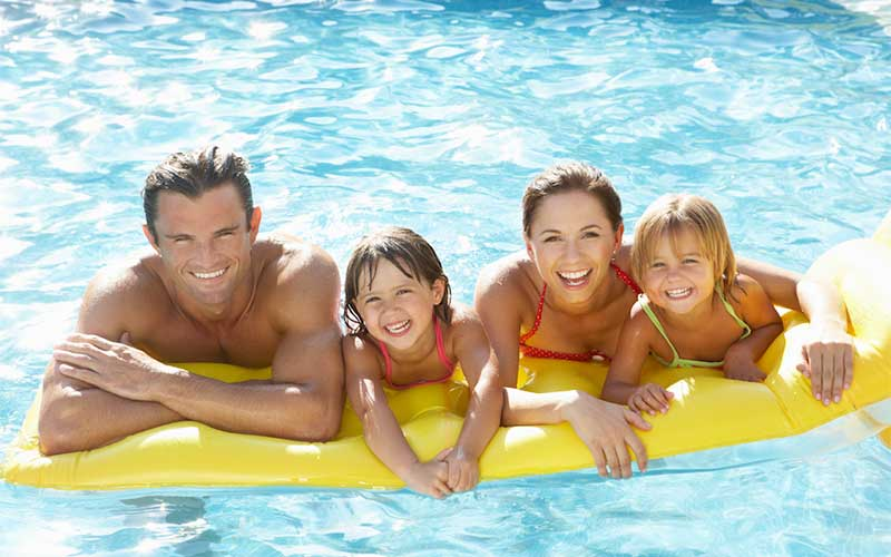 pool advertising