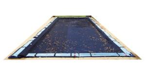leaf net inground pool cover