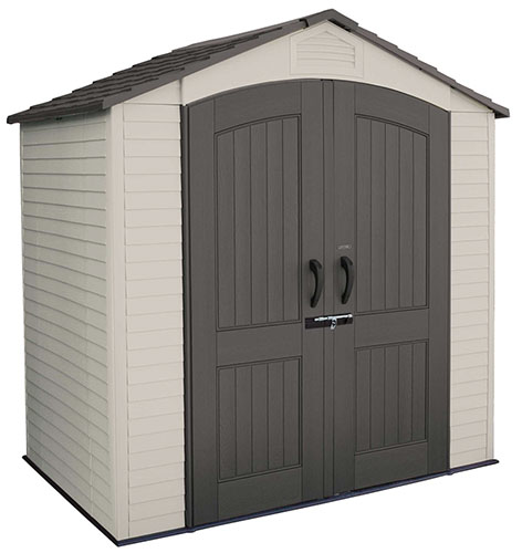 pool pump shed