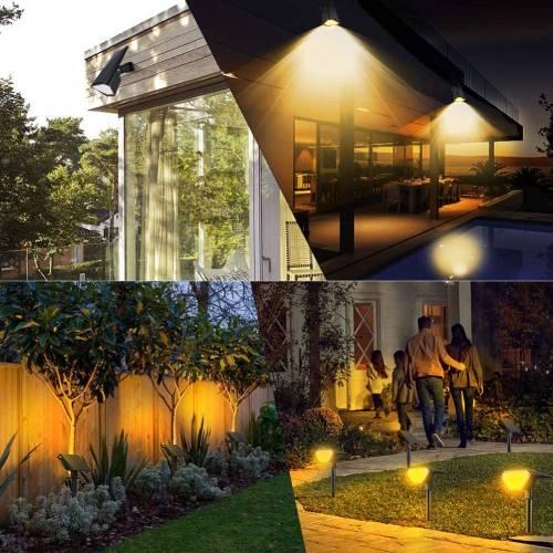 outdoor solar spotlight lighting