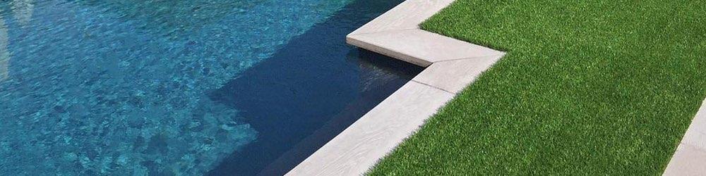 artificial grass pool deck