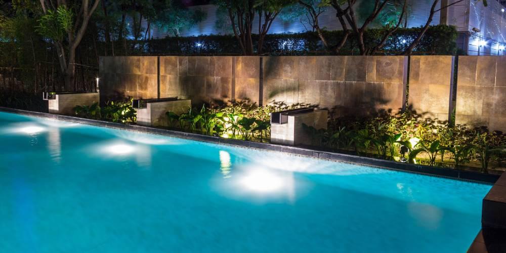 pool deck lighting ideas