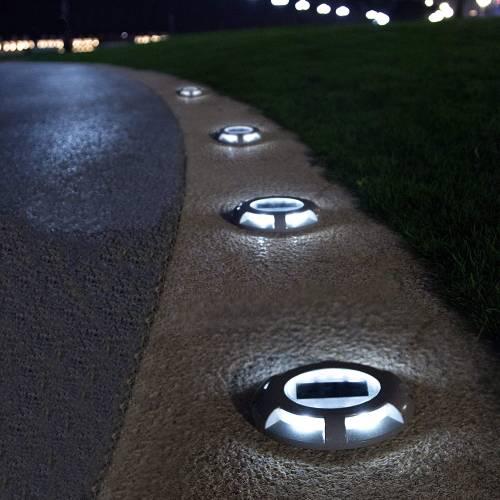 solar sidewalk lighting
