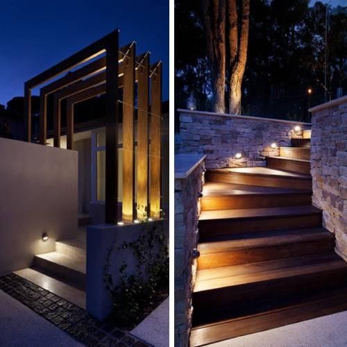 led step stair lighting