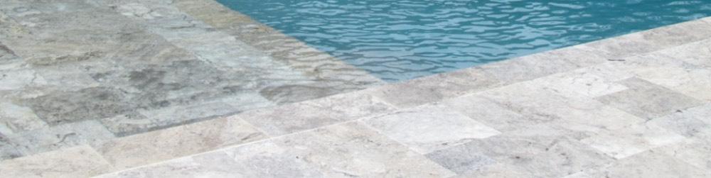 travertine pool deck tiles