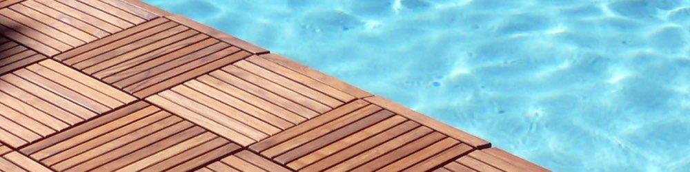 wood pool deck tiles